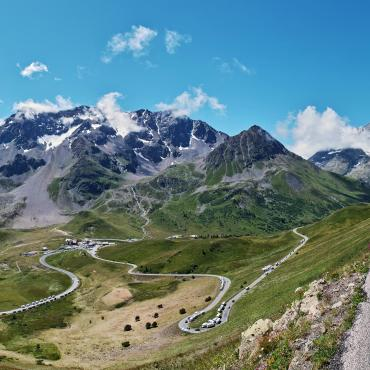 cycling across the french alps